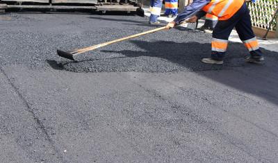 Repair of roads